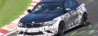 BMW M2 Filmed in Action at the 'Ring