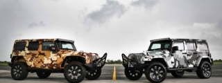 Metro Wrapz Shows Off Camo-Wrapped Jeep Wranglers