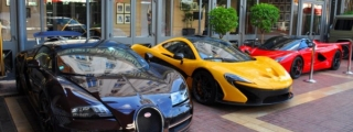 LaFerrari, P1 and Bugatti Veyron Rembrandt Spotted Together in Cannes