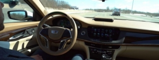 2018 Cadillac CT6 Gets Super Cruise Hands-Free Driving System