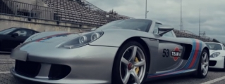 Porsche Carrera GT Schools the 918 at the 'Ring