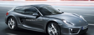 Rendering: Porsche Cayman Shooting Brake