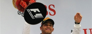 Hamilton Conquers The Shanghai Rain In China