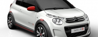 Citroen C1 Swiss & Me Bows at Geneva