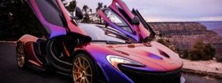 Gallery: C. J. Wilson's Purple McLaren P1