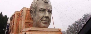 WTF? Somebody's Made a Bust of Jeremy Clarkson!