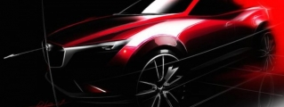 All-New Mazda CX-3 Confirmed for Los Angeles Debut