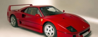 World's Only Ferrari F40 with Leather Seats Up for Grabs