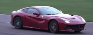 Ferrari F12 Pushed Hard at Fiorano Is a Sight to Behold