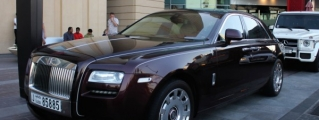 Rolls-Royce Ghost One Thousand and One Nights Spotted in Dubai