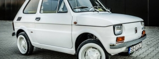 Tom Hanks Fiat 126p with Carlex Interior