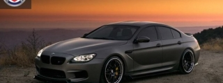 Magnificent: Custom BMW M6 Gran Coupe on HREs