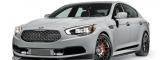 SEMA-Bound Kia K900 Concept Revealed