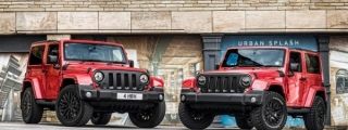 Chelsea Twins: Kahn Design Jeep Wrangler Photoshoot