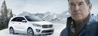 Pierce Brosnan Stars in Kia's Super Bowl Ad
