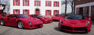 Dario Benuzzi Samples Ferrari F40, F50, Enzo and LaFerrari