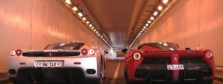 Ferrari Soundcheck: LaFerrari vs Enzo