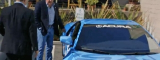 Jerry Seinfeld and Jay Leno Check Out the New Acura NSX