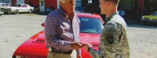 Jay Leno Gives Wounded Vet a Challenger Hellcat