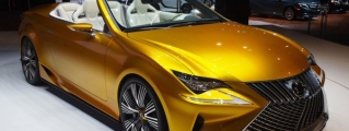 Up Close with Lexus LF-C2 at L.A. Auto Show