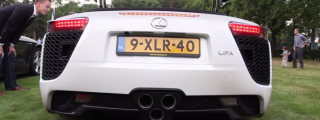 Sights and Sounds: Lexus LFA Tokyo Edition