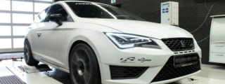 SEAT Leon Cupra Tuned to 340 hp by Mcchip-DKR