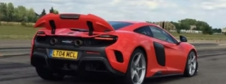 Sport Auto Gives McLaren 675LT a Good Workout