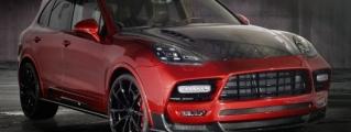 Mansory Porsche Cayenne Turbo Powers into Geneva