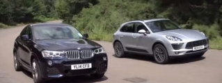Ultimate Crossover Battle: BMW X4 vs Porsche Macan