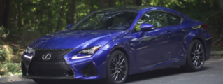 Matt Farah Samples Lexus RC F