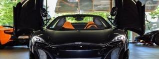 Munich's Black Knight: McLaren 675LT Spider