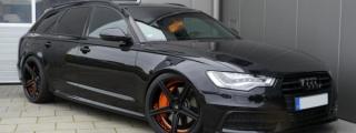 Black on Back Audi A6 by mbDESIGN