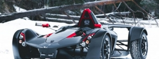 BAC Mono Hits the Ice in First Winter Driving Event