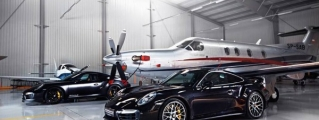 MM-Performance Porsche 991 Turbo Hangar Photoshoot