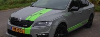 MTM Skoda Octavia vRS with 300-hp