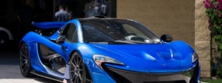 Electric Blue McLaren P1 on Sale for $2.19 Million