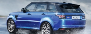 Sliding Tower: Range Rover Sport SVR with TC Off!