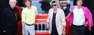 Jeep Renegade Signed by the Rolling Stones Up for Auction