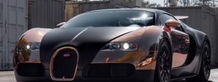 Rose Gold Bugatti Veyron by RDBLA