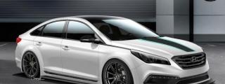 SEMA Preview: 2015 Hyundai Sonata JP Edition
