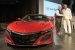 Rick Hendrick Takes Delivery of the First Acura NSX