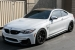 Alpine White BMW M4 Looks Fancy on BBS Wheels