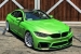 Apple Green BMW M4 Looks Tasty!