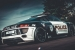Audi R8 Police Car Prepared for ADAC