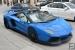 Blue Novitec Torado Aventador Spotted in Montreal