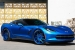 Blue on Blue Corvette by Forgiato Wheels