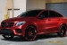 Brushed Red Mercedes GLE Coupe by TaTe Design