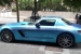 Mercedes SLS Wrapped in Blue Chrome Brushed