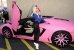 Nicki Minaj Shows Off Her Pink Lamborghini Aventador