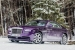 Purple Rolls-Royce Wraith in the Swiss Alps